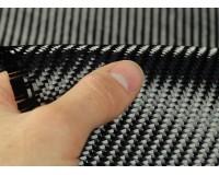 200g/m2 Carbon Fabric 3K Twill  (0.1m2 100x1000mm)