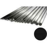 "Carbon Rod 0.6mm x 1000mm Pultrusion (.024"" x 39"")"