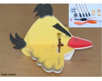 Angry Bird Egg 580mm yellow SUPER COMBO (KIT)