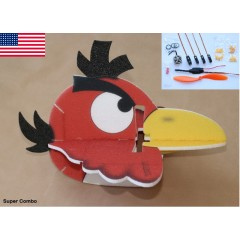 Angry Bird Toucan 580mm Red SUPER COMBO KIT (US Warehouse)