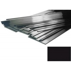 "Carbon Strip 1mm x 3mm x 1000mm Pultrusion (.039""x.118 "" x 39"")"