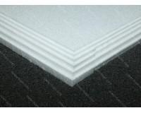 10mm EPP Foam 600 x 900mm (White 30kg/m3)