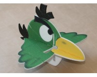 Angry Bird Toucan 580mm (green) + controller