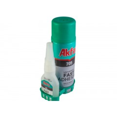 Glue cyanoacrylate 50g + activator 200ml (gel)
