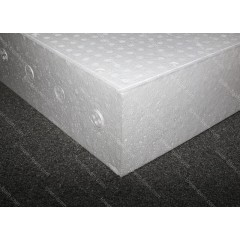 20kg/m3 EPP Foam - Block 900x600x150mm (White)