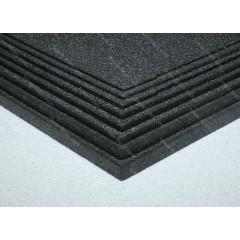 9mm EPP Foam 600 x 900mm (Black 30kg/m3)